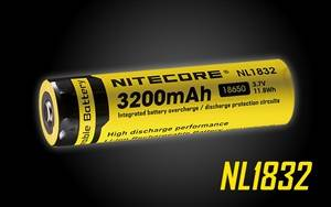 Nitecore NL188 3200mAH 18650 Rechargeable Battery