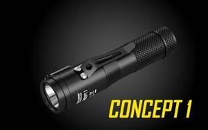 NITECORE Concept 1 1800 Lumen Compact EDC Flashlight
