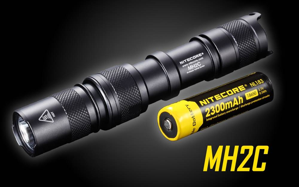 Nitecore MH2C 800 Lumen Rechargeable LED Flashlight