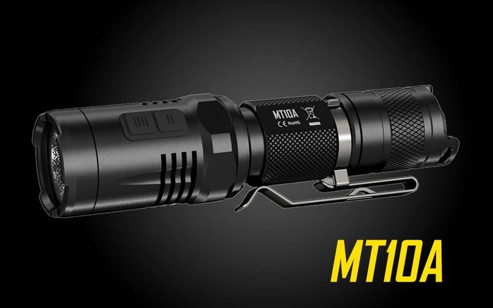 Nitecore MT10A 920 Lumen AA-Battery LED Flashlight