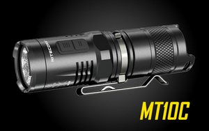 Nitecore Multi-Task MT10C CREE XM-L2 U2 LED Light