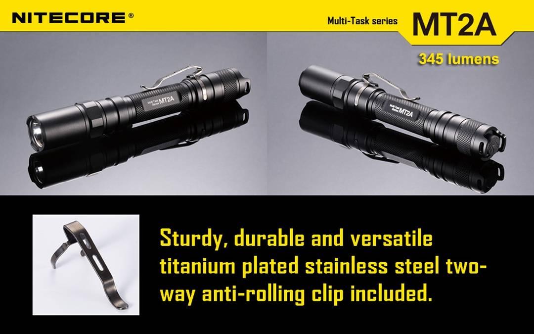 Nitecore MT2A 345 Lumen LED Flashlight