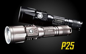 Nitecore P25 960 Lumen Rechargeable Flashlight