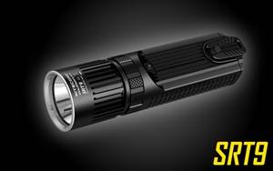 Nitecore SRT9 2150 Lumen Multi-LED Smartring Tactical Flashlight