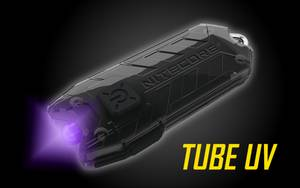 Nitecore T Series Tube UV USB Rechargeable UltraViolet Keychain Light