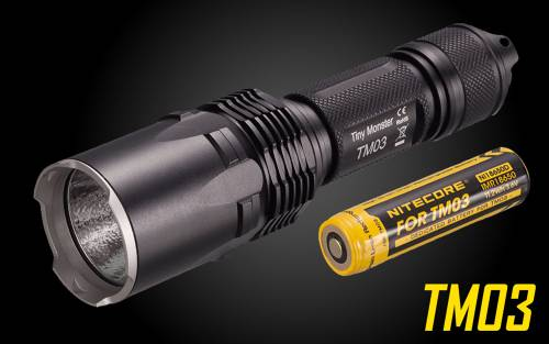 NiteCore TM03 2800 Lumen LED Flashlight