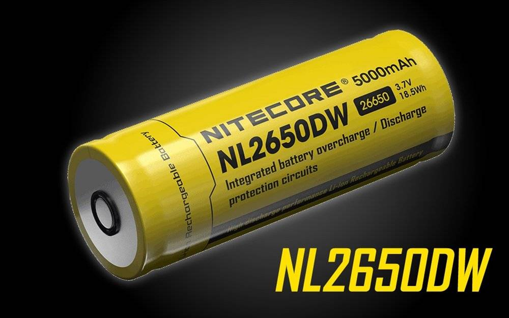 Nitecore NL2650DW Rechargeable Battery for the R40
