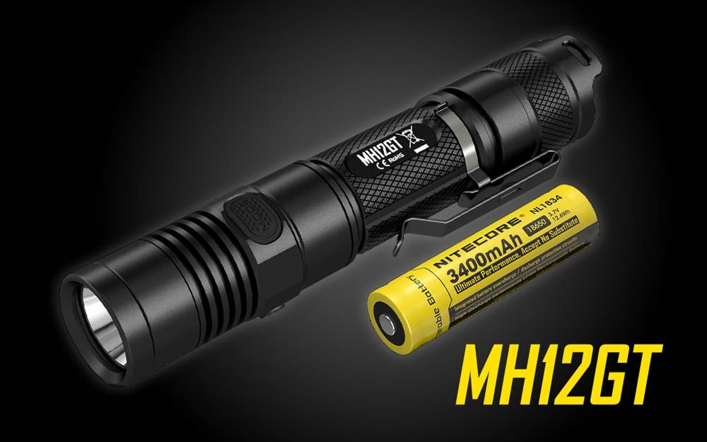 Nitecore Mh12gt 1000 Lumens Usb Rechargeable Flashlight