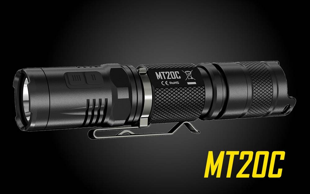 nitecore multitask mt20c cree xpg2 r5 led light