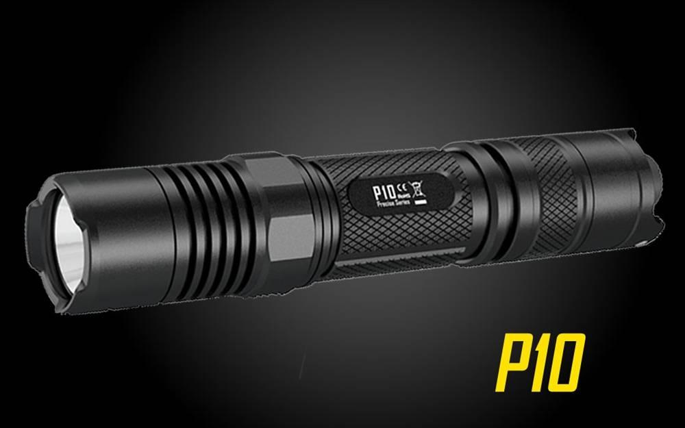 Nitecore P10 800 Lumen Strobe-Ready LED Flashlight