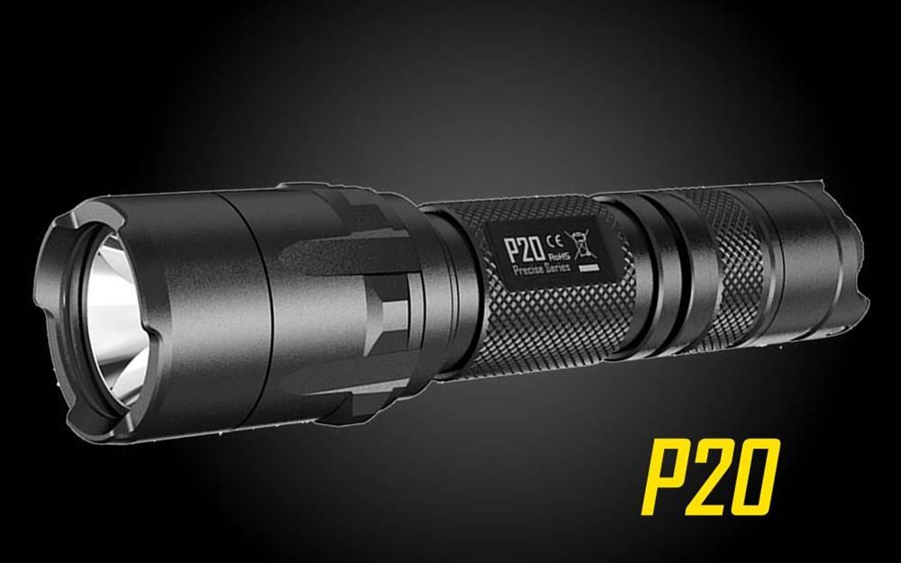 Nitecore P20 800 Lumen Strobe Ready LED Flashlight