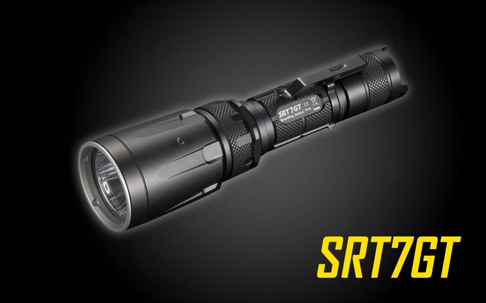 nitecore srt7gt lumen smartring led flashlight