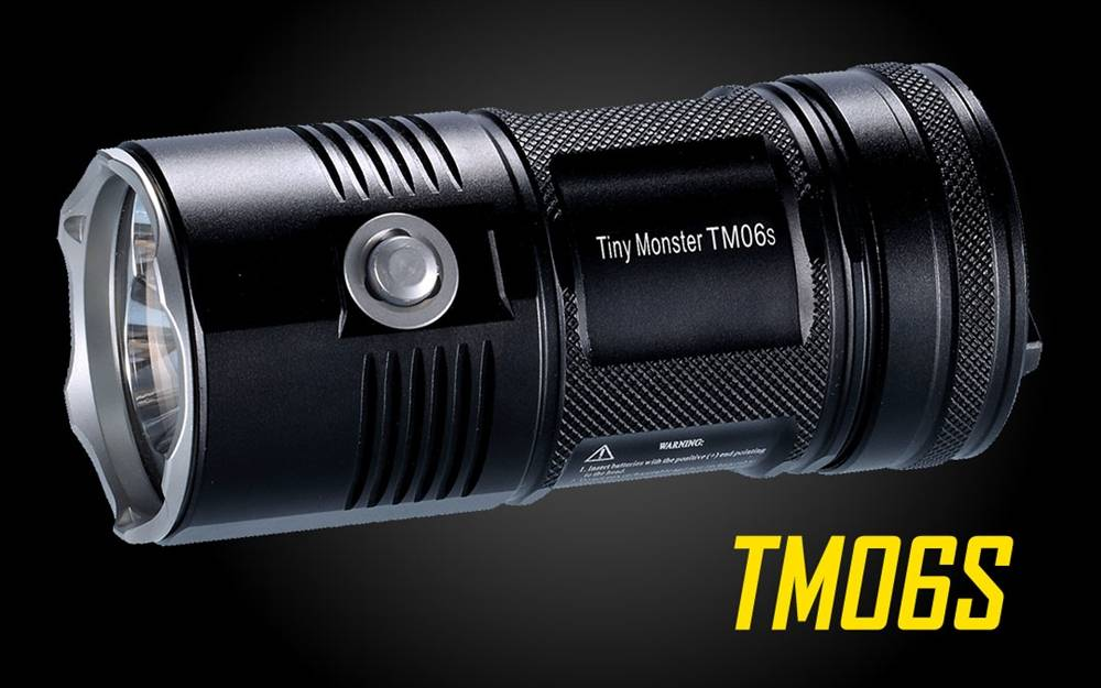nitecore tm06s lumen led flashlight